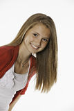 Teenage Female Girl All Smiles Stock Photos