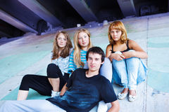 Teenage friends Stock Photography