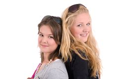 Teenage friends Royalty Free Stock Photography