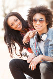 Teenage friends. Stock Images
