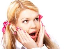 Teenage girl Stock Images