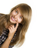 Teenage Girl Royalty Free Stock Photography