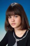 Teenage girl. Portrait of a cute teenage girl royalty free stock photos