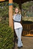 Teenage Girl. A beautiful young teenage girl Royalty Free Stock Photos
