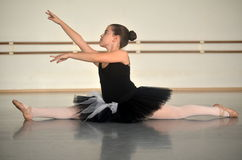 Teenage girl ballet dancer Stock Photos