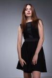 Teenage girl beautiful face stock photography