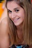 Teenage girl in a bikini Stock Image