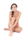 Teenage girl in bikini Stock Photography