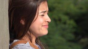 Teenage Girl Crying Royalty Free Stock Photos