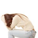 Teenage girl depression - lost love Stock Image