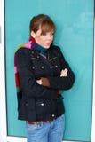 Teenage Girl Freezing Stock Photos