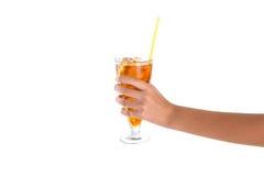 Teenage Girl Hand Holding Drink I Stock Photo