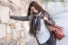 Teenage girl handbag Stock Image