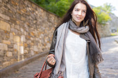 Teenage girl handbag Royalty Free Stock Photos