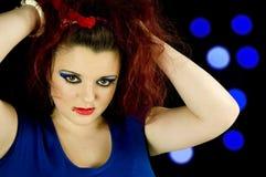 Teenage girl holding hair up Stock Photos