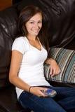 Teenage Girl at Home Stock Image