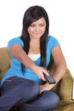 Teenage Girl at Home Stock Photography