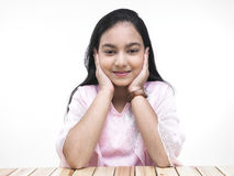 Teenage girl of indian origin Stock Photos
