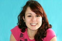 Teenage girl laughing Stock Photography