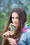 Teenage girl outdoor portrait Royalty Free Stock Photography