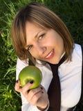 Teenage girl outdoors Stock Photography