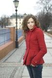 Teenage girl in Poland Stock Image