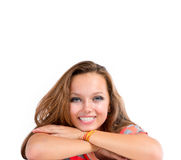 Teenage Girl Portrait Stock Images