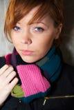 Teenage Girl Portrait Stock Photography