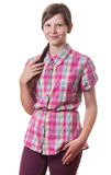 Teenage girl portrait Royalty Free Stock Photography