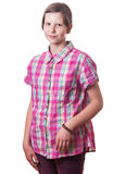 Teenage girl portrait Stock Photos