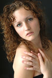 Teenage girl posing  Royalty Free Stock Photography