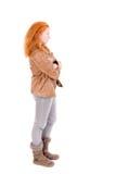 Teenage girl posing Stock Photography