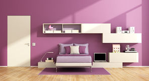 Teenage girl room Royalty Free Stock Images