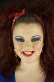 Teenage girl smiling Stock Photography