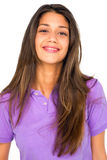 Teenage girl smiling Royalty Free Stock Images