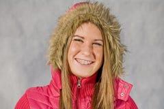 Teenage Girl Smiling Royalty Free Stock Images