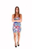 Teenage girl standing. Stock Image