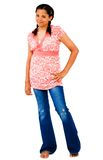 Teenage Girl Standing Stock Image