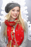 Teenage Girl Wearing Knitwear In Studio Stock Photos