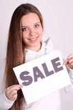 Teenage girl wearing sport clothes Royalty Free Stock Photos