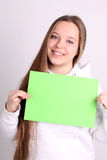 Teenage girl wearing sport clothes Royalty Free Stock Image