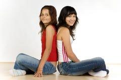 Teenage girlfriends Royalty Free Stock Photography