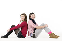 Teenage girls Royalty Free Stock Photos