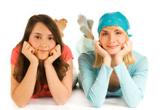 Teenage girls Royalty Free Stock Photo