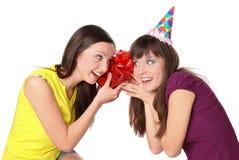 Teenage girls is fun Royalty Free Stock Photography