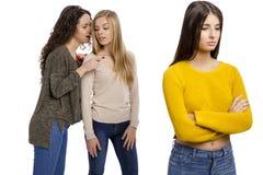 Teenage girls gossiping Royalty Free Stock Photography