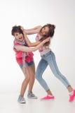 Teenage girls have fun Stock Photos
