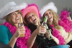 Teenage Girls At Home Royalty Free Stock Photo