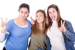 Teenage girls Royalty Free Stock Photos