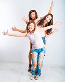 Teenage girls Stock Images